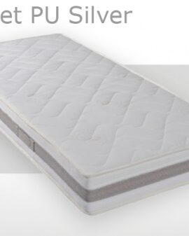 pocket pu silver - matras