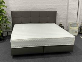 Boxspring set design crush taupe 180x200