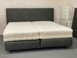 boxspring set 180x200 showroom jeep antraciet